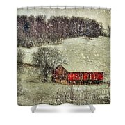 Circa 1855 Shower Curtain by Lois Bryan