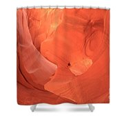 Circle In The Sandstone Shower Curtain