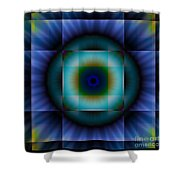 Circle Square Shower Curtain