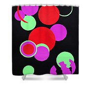 Circle Study One Shower Curtain