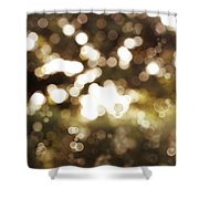 Circles Background Shower Curtain