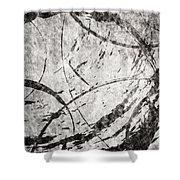 Circles Shower Curtain by Brett Pfister