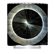 Circles Do Not Exist 720 The Shape Of Pi Shower Curtain