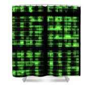 Circuits Shower Curtain