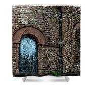 Circular Church Window Shower Curtain