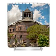 Circular Congregational Church  Shower Curtain
