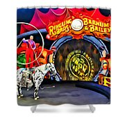 Circus Act Shower Curtain
