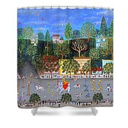 Circus Parade Two Shower Curtain