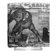 Circus Poster, 1938 Shower Curtain