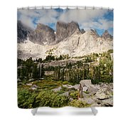 Cirque Of The Towers Shower Curtain