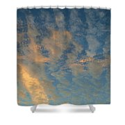 Cirrocumulus Morning Shower Curtain