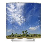 Cirrus Clouds  Shower Curtain