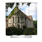 Cistercian Abbey Of Fontenay Shower Curtain
