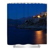 Citadel At The Waterfront, Calvi Shower Curtain