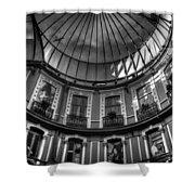 Cite De Pera Shower Curtain by Taylan Apukovska