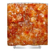 Citrine Shower Curtain