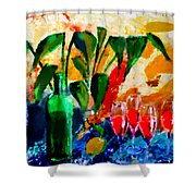 Citro Shower Curtain