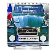 Citroen 2 Cv - France Shower Curtain
