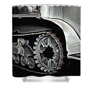 Citroen Half Track - Automobile  Shower Curtain