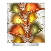 Citrus Colors Shower Curtain
