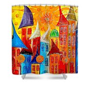 City 531-11-13 Marucii Shower Curtain