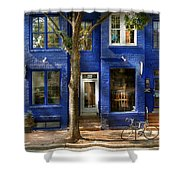 City - Alexandria Va -  Bike - The Urbs Shower Curtain
