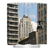 City Apartment Living Shower Curtain