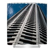 City Apartments Shower Curtain