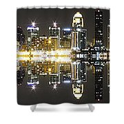City Approach Panoramic Shower Curtain