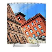 City Architecture Kcmo Shower Curtain