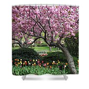 City Blossoms Shower Curtain