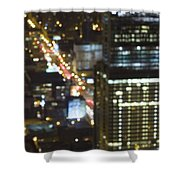 City Blur Shower Curtain