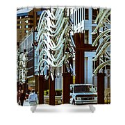 City Center-11 Shower Curtain
