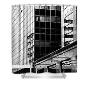 City Center-16 Shower Curtain