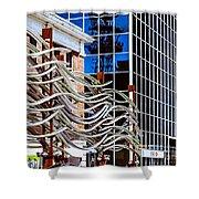 City Center-27 Shower Curtain