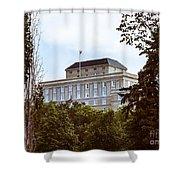 City Center -36 Shower Curtain