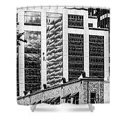 City Center -64 Shower Curtain