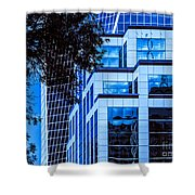 City Center-96 Shower Curtain