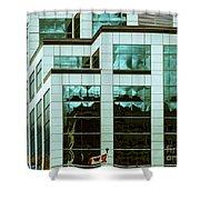 City Cnter-80 Shower Curtain