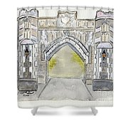 City College Of New York Shower Curtain