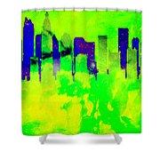 City Colors Shower Curtain