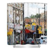 City Colors Shower Curtain