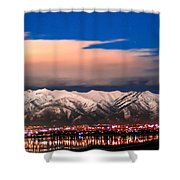 City Electric Shower Curtain