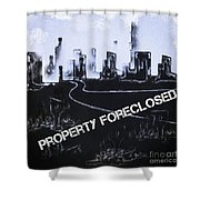 City For Sale Shower Curtain