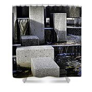City Fountain Shower Curtain
