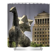 City Garden St. Louis Shower Curtain