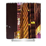 City Glow Shower Curtain