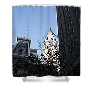 City Hall At Market Street Shower Curtain