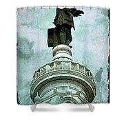 City Hall Billy Shower Curtain