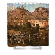 City Hall - Capetown 1917 Shower Curtain